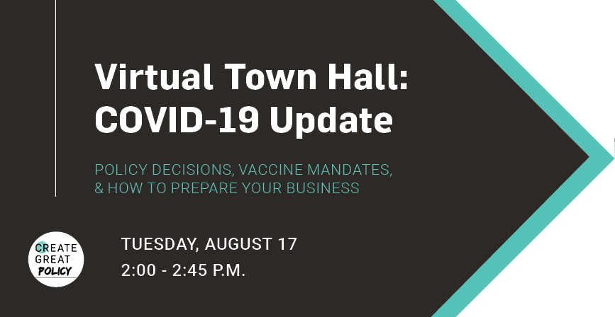 Virtual Town Hall: COVID-19 Update 1